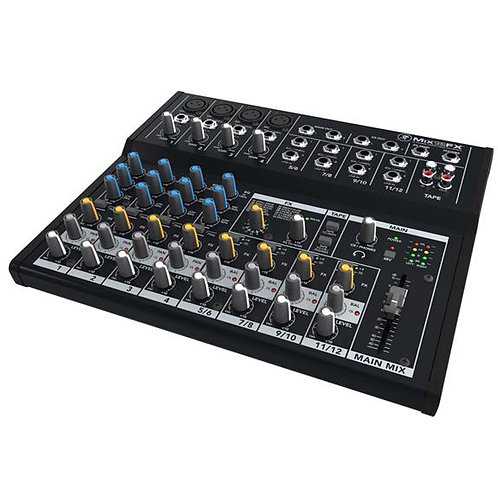 Mackie - Mix12FX - 12-Channel Compact Mixer w/Effects