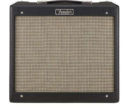 "Fender Blues Junior IV - Black 15W 1-Channel 1x12"" Tube Guitar Combo Amplifier"