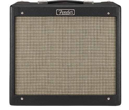 "Fender Blues Junior IV - Black 15W 1-Channel 1x12"" Tube Guitar Combo Amplifier"