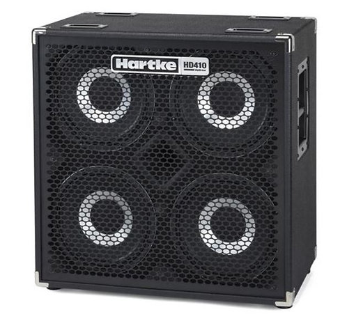 Hartke HD410 4x10 1000W 8 ohm Sealed Bass Cabinet with Black Grille