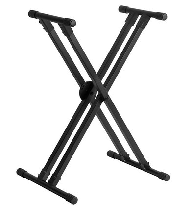 On Stage KS8291XXERGO-LOK Double-X Keyboard Stand with Lok-Tight Construction LI