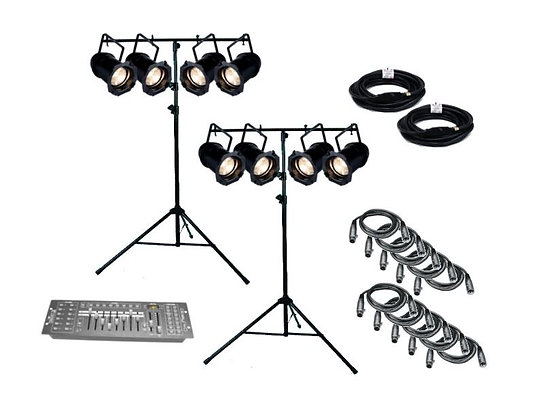 ADJ PAR829 - 8 Par Light Kit