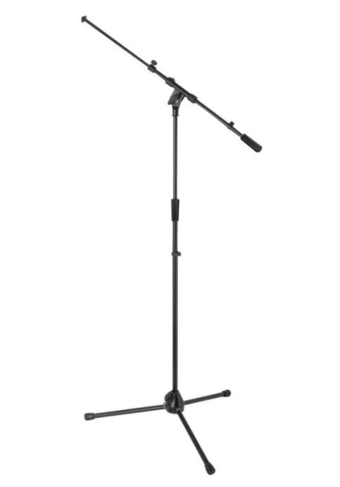 On-Stage MS9701TB+Heavy-Duty Tele-Boom Mic Stand