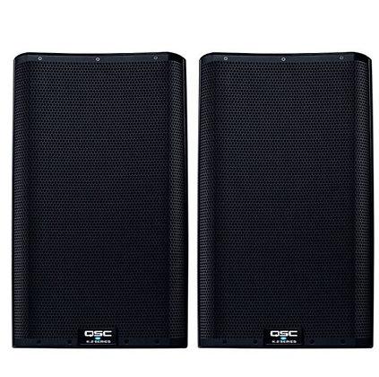 """QSC K12.2 Powered Loudspeaker (2000 Watts, 1x12"""") Pair, with Speaker Pack"""