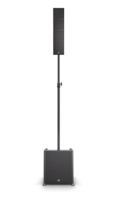 LD Systems CURV 500 ES Portable Array System Entertainer w/ Distance Bar & Speak