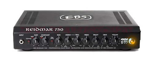 EBS EBS-RD750 Reidmar 750 Bass Amp Head, 750 Watts