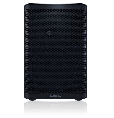 """QSC CP8 8"""" 2-Way Active Compact Powered Loudspeakers in Black"""