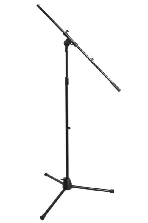 On-Stage MS7701BEuro Boom Microphone Stand (Black)