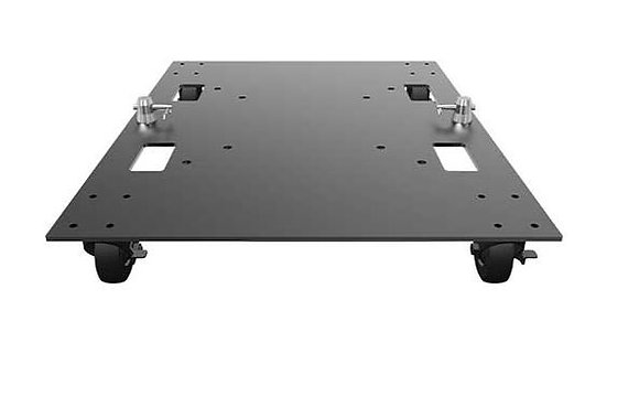 Global Truss BASEPLATE-24X30-WC Steel Baseplate With Casters
