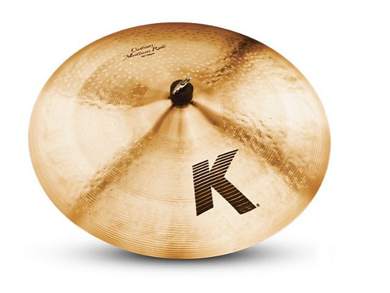 "Zildjian K0856 22"" K Custom Medium Ride Cymbal"