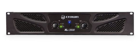 Crown XLi3500 2-Channel, 1350W at 4 Ohm Power Amplifier