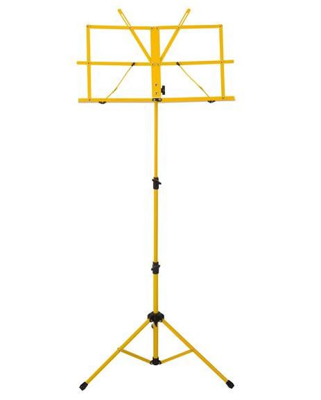 Ravel Folding Music Stand, Yellow