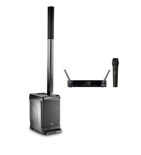JBL EON-1-DMS300-V-K Portable PA Bundle with AKG DMS300 Handheld Wireless