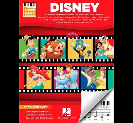 Hal Leonard Disney - Super Easy Songbook Standard