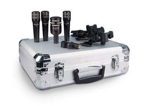 Audix DP4 Drum Mic Bundle with 4 Mics, 3 Mounts and Hard Case