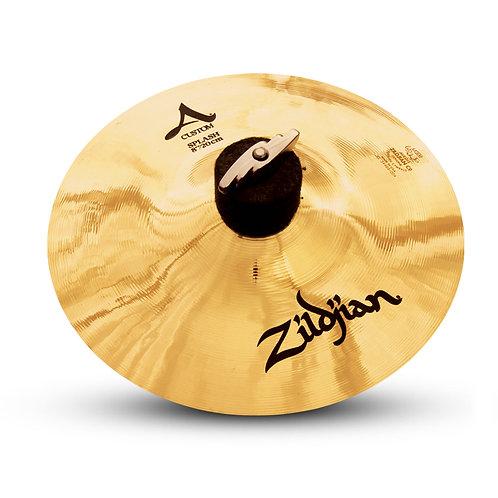 """Zildjian A20540 8"""" A Custom Splash Brilliant Finish"""