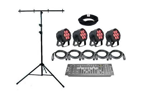 Elation SIX001 - 4 Par Light Kit