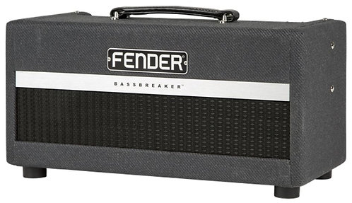 Fender Bassbreaker 15 Head 15W Tube Guitar Amplifier Head