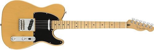 Fender Player Series Telecaster Tele Solidbody Electric Guitar with Maple Finger
