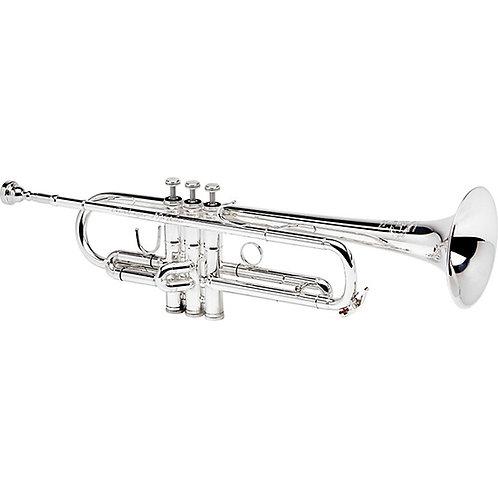 """B&S """"X-Series"""" Professional Trumpet - Christian Martinez Model MBX - Silver Plat"""