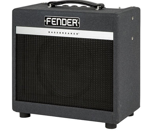 "Fender Bassbreaker 007 Combo 7W 1-Channel 1X10"" Tube Guitar Combo Amplifier"