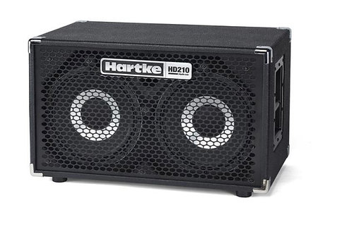 Hartke HD210 2x10 500W 8 ohm Sealed Bass Cabinet with Black Grille