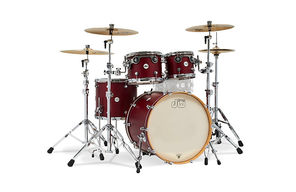 DW DDLM2214 Design Series Limited Satin Lacquer 4 Piece Shell Pack