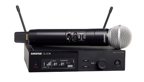 Shure SLXD24/SM58 Wireless Vocal System with SM58