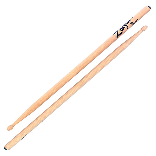 Zildjian Z5AA 5A Wood Tip, Anti-Vibe Drum Sticks