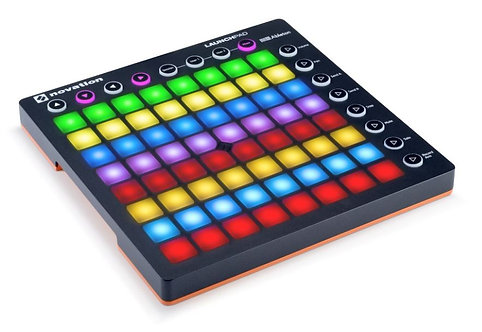 Novation LAUNCHPAD-S-MK2 Launchpad MK2 64-Pad Grid Controller with RGB Pads
