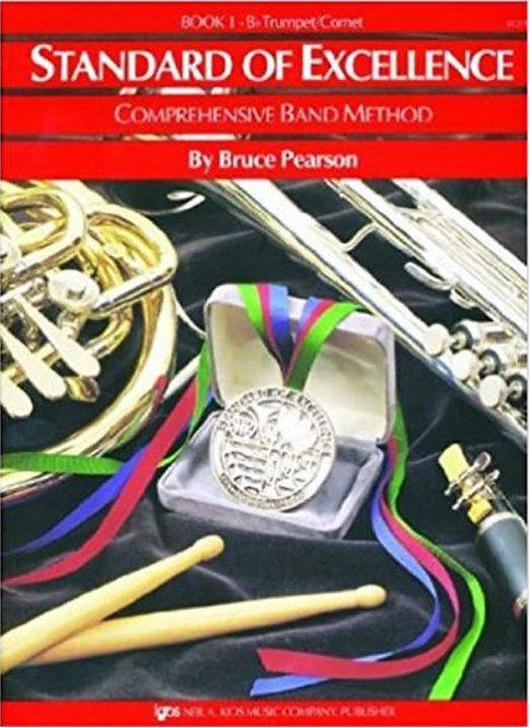 Standard Of Excellence: Bb Trumpet/Cornet - Book 1