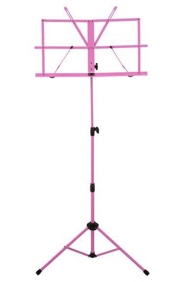 Ravel Folding Music Stand, Pink