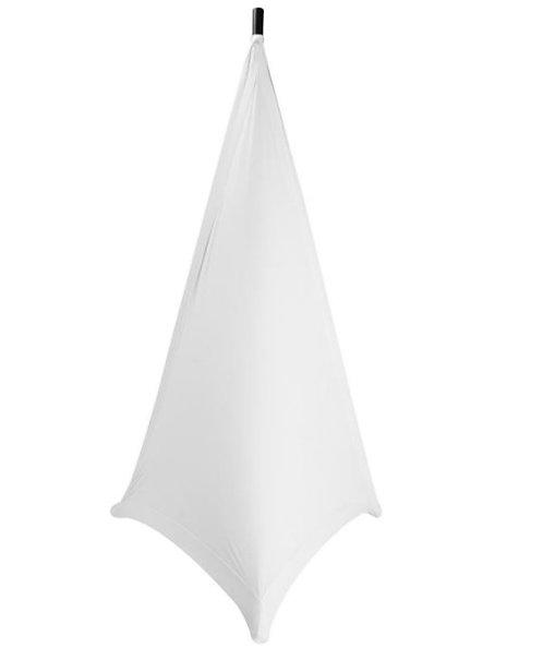 On-Stage SSA100W Speaker / Lighting Stand Skirt (White)