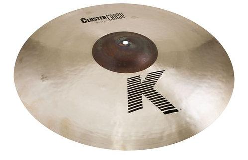 "Zildjian K0935 20"" Extra-Thin Crash Cymbal with Unlathed Bell"