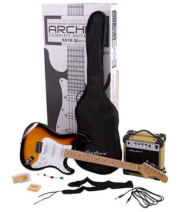 Archer SS10 Electric Guitar Package - Sunburst