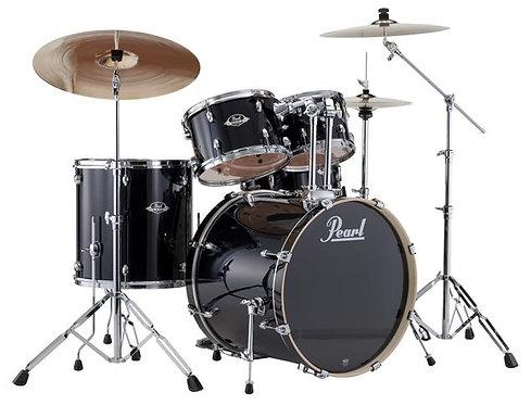Pearl Export EXX725S 5-Piece Drum Kit - Jet Black