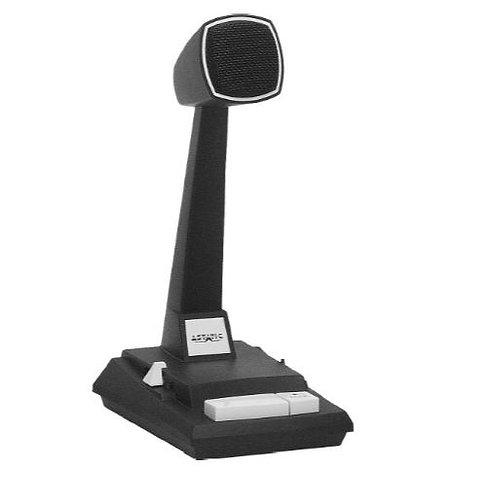 CAD Audio 878HL-2 Desktop Omnidirectional Microphone with Locking Switch
