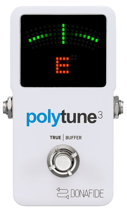 TC Electronic POLYTUNE-3 PolyTune 3 Poly-Chromatic Tuner with Built-in Buffer