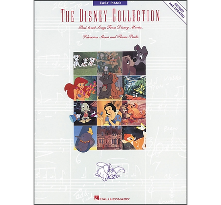 Hal Leonard The Disney Collection Revised And Updated for Easy Piano Standard