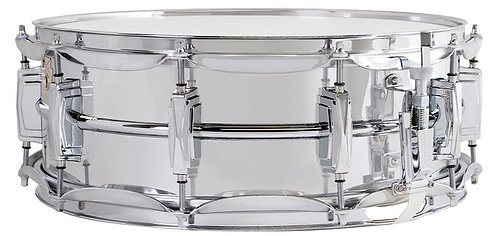 "Ludwig LM400 5""x14"" Supraphonic Chrome Snare Drum"