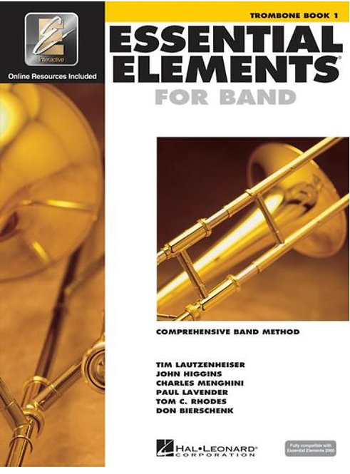 Essential Elements for Band: Trombone - Book 1 with EEi and Media Online