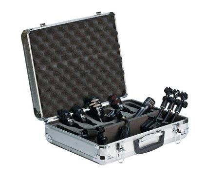 Audix DP5A Drum Mic Bundle with 5 Mics, 4 Mounts and Hard Case