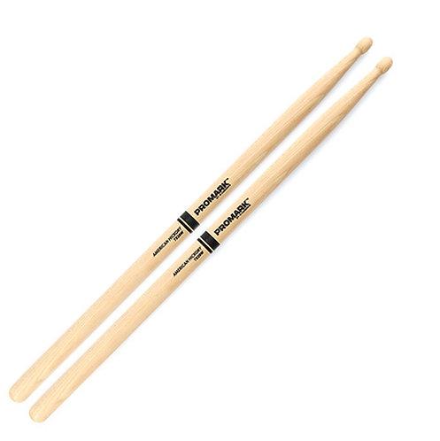 Pro-Mark TX2BW Hickory 2B Wood Tip Drums Sticks (PAIR)