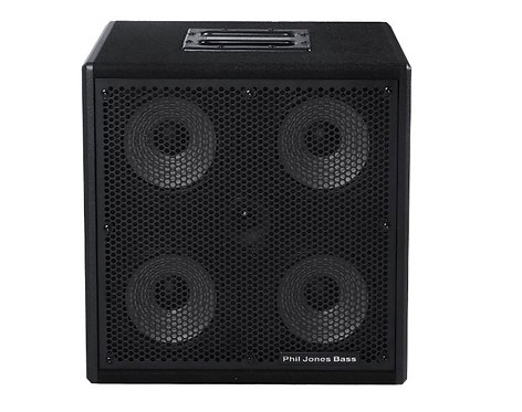 "Phil Jones Bass Cab 47 300W 4 x 7"" plus 3"" Tweeter 8 Ohm Bass Cabinet"