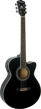 Washburn - Mini Jumbo Acoustic/Electric Guitar