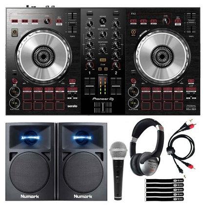 Pioneer DDJ-SB3 DJ Controller Starter Package