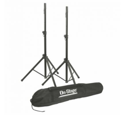 On-Stage SSP7900All-Aluminum Speaker Stand Pack