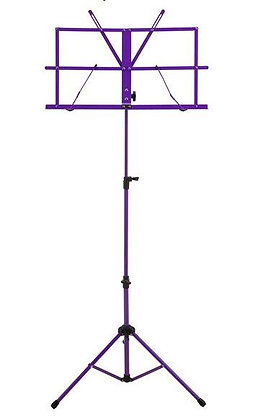 Ravel Folding Music Stand, Purple