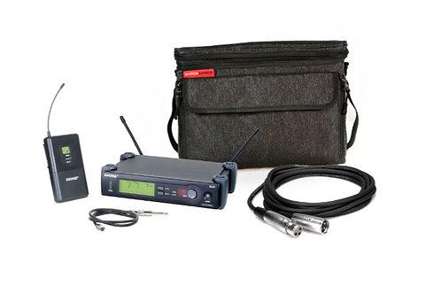 Shure SLX14 - Gator Bag Bundle SLX Wireless Guitar System + Gator Padded Bag + M
