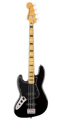 Squier Classic Vibe '70s Left-Handed Jazz Bass Maple Fingerboard Black
